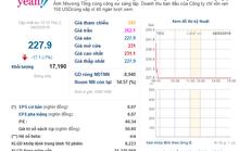 Cổ phiếu Yeah1 rớt giá thảm hại vì sự cố với Youtube