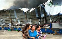 Cháy kho hàng khủng ở  KCN Sóng Thần: 4 doanh nghiệp thiệt hại nặng
