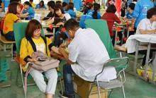 800 công nhân tham gia hiến máu tình nguyện