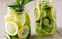 """Học cách giảm cân """"siêu tốc"""" chỉ với 6 loại nước uống tự nhiên"""