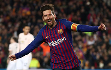Messi tỏa sáng, Man United trắng tay Champions League