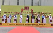 Lễ khánh thành giai đoạn II nhà máy Hoa Sen Nhơn Hội Bình Định