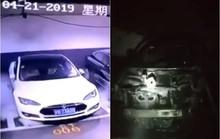 Siêu xe Tesla Model S đang đậu bỗng nổ tung ở Trung Quốc