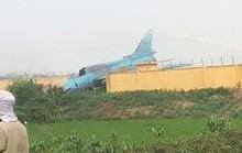 Nguyên nhân máy bay Su-22 gặp sự cố khi hạ cánh ở Yên Bái