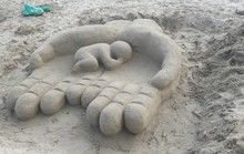 Độc đáo các tác phẩm tại cuộc thi xây tượng cát trên biển Đà Nẵng