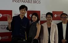 Hươu cao cổ Lee Kwang Soo rạng rỡ tại TP HCM