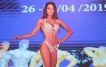 Nhã Miên, Hồng Đức vô địch thể hình physique TP HCM