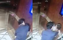 Người ôm bé gái trong thang máy là cựu phó viện trưởng VKSND TP Đà Nẵng