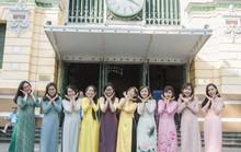 Tôn vinh áo dài Việt