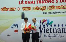 Thủ tướng dự khai trương 5 đường bay mới ở Cần Thơ