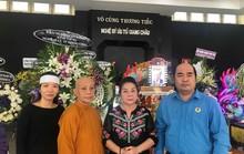 Tiễn đưa NSƯT Giang Châu về nơi an nghỉ cuối cùng