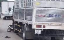 Ô tô tải chở gas va chạm xe máy, 1 học sinh tử vong