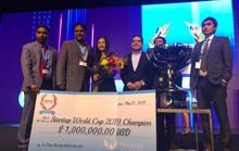 Lần đầu tiên, start up thuần Việt vô địch đấu trường khởi nghiệp sáng tạo thế giới