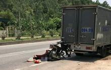 Đi ăn giỗ, người đàn ông tông xe máy vào đuôi xe tải tử vong