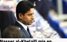 Ông trùm PSG dính nghi án hối lộ, bóng đá Pháp rối beng