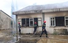 Hỏa hoạn thiêu rụi 7 gian nhà kho dâu tằm Lâm Đồng