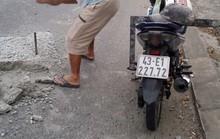 Vụ 2 thợ đá gây sốt mạng xã hội: Do đơn vị quản lý đường chưa phát hiện kịp