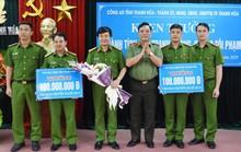 Liên tiếp phá nhiều chuyên án lớn, Công an TP Thanh Hóa nhận thưởng 320 triệu đồng