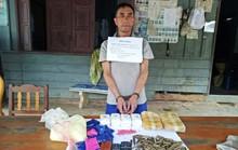 Bắt kẻ vận chuyển 12.000 viên ma túy tổng hợp cùng 180 viên đạn