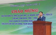 Người xưng nhà báo quốc tế đã được kết nạp vào Hội Nhà báo Việt Nam