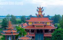 Chiêm ngưỡng ngôi chùa vùng biên giới có tượng Phật cao nhất miền Tây