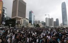 Trung Quốc tố Mỹ can thiệp nội bộ, Hồng Kông biểu tình