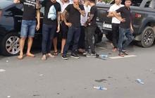Tạm đình chỉ 2 trung tá cảnh sát liên quan vụ giang hồ  vây xe công an