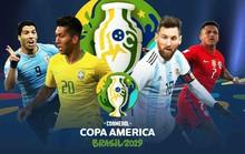 Xem  trọn vẹn 26 trận đấu Copa America 2019 trên K+ và FPT