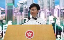 Lãnh đạo Hồng Kông: Hoãn dự luật dẫn độ để yên lòng dân chứ không rút hẳn