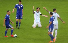Messi ghi bàn, Argentina vẫn xếp chót bảng