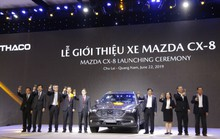 Thaco tung ra thị trường xe 7 chỗ Mazda CX-8 giá hơn 1,1 tỉ đồng