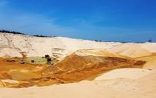 Sụt cát khi khai thác titan, 1 công nhân tử vong và 4 người bị thương