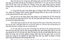"""Đồng Tháp: 2 cán bộ coi thi phát """"dính"""" đề thi"""