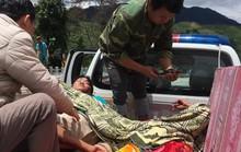 Lật xe trên đèo Lò Xo, 3 người trọng thương