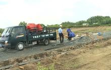 Tự ý san ủi 1,5ha đất nông nghiệp để phân lô