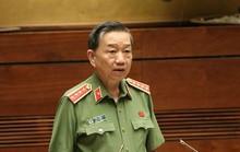Bộ trưởng Bộ Công an Tô Lâm trả lời chất vấn trước Quốc hội