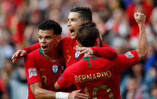 Người hùng Ronaldo đưa Bồ Đào Nha vào chung kết Nations League