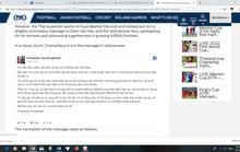 Messi Thái Lan dùng tiếng Việt xin lỗi Văn Hậu sau bình luận quá trớn