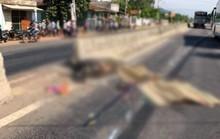Băng qua Quốc lộ 1, vợ chồng bị xe tải tông chết