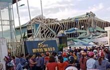 Giông lốc lớn làm đổ sập nhà xưởng của công ty Ivory Việt Nam có 3.000 công nhân