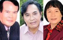 Minh Vương, Thanh Tuấn, Giang Châu được đề nghị  phong, truy tặng danh hiệu NSND