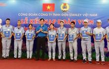 CÔNG TY TNHH ĐIỆN STANLEY Việt Nam: Kết nạp thêm 150 đoàn viên mới