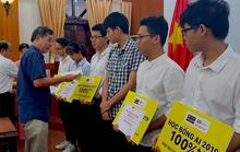 10 học sinh xuất sắc nhận học bổng toàn phần từ ĐH lên tiến sĩ