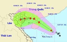 Bão số 3 giật cấp 11 di chuyển nhanh vào Quảng Ninh - Hải Phòng