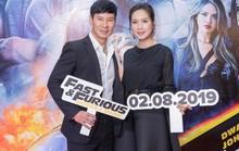 Sao Việt đọ sắc tại buổi ra mắt phim bom tấn của The Rock