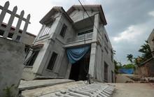 Cận cảnh ngôi nhà 2 tầng khang trang bất ngờ bị hố tử thần nuốt