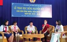 Động viên, khen thưởng con CNVC-LĐ vượt khó