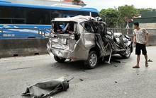 4 ôtô tông nhau liên hoàn trên QL1A, 2 người bị thương