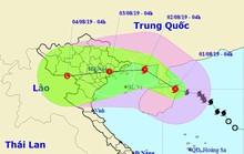 Bão số 3 mạnh thêm, giật trên cấp 12 trực chỉ vào Quảng Ninh-Hải Phòng