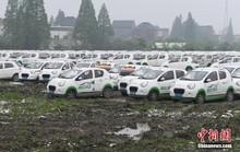 Sau xe đạp, hàng trăm ngàn ôtô bị vứt bỏ tại Trung Quốc